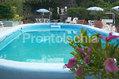 La piscina termale esterna