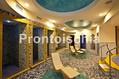 Hotel Terme Alexander - La piscina termale in giardino ed il solarium attrezzato