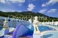 Hotel Terme Manzi - La piscina termale esterna con solarium