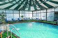 Hotel Terme Parco Verde - La piscina semicoperta termale