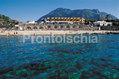 Hotel terme Tritone - L'hotel visto dal mare