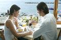 Hotel Terme Tritone - La prima colazione vista mare