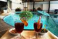 Hotel Villa Franca - La piscina interna con idromassaggio