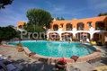 Hotel Aragonese - La struttura con la piscina termale esterna