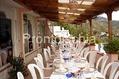 Pensione Casa Eugenio - Il ristorante all'aperto