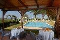 Residence Covo dei Borboni - Il patio attrezzato in giardino