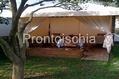 B&B Villa Adriana - Il patio per la colazione