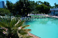 Hotel Lumihe - Le due piscine termali in giardino