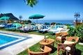 Hotel Villa Cimmentorosso - Il solarium attrezzato della piscina
