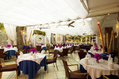 Hotel Central Park - La sala ristorante in giardino