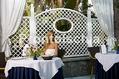 Hotel Central Park - Il ristorante in giardino