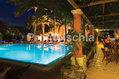 Hotel Terme Villa Svizzera - La piscina esterna illuminata