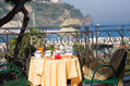 Hotel Terme Villa Svizzera - La sala ristorante esterna panoramica
