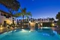 Hotel Don Pepe - L'ampia piscina termale illuminata