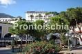 Hotel Gran Paradiso - L'albergo visto dal porto di Casamicciola