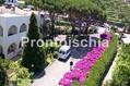 Hotel Grazia Terme - Il parco con la navetta dell'Hotel