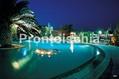 Hotel Grazia Terme - La piscina di sera