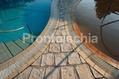 Hotel Ideal - La piscina termale e la piscina naturale in giardino