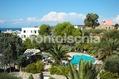 Hotel Ideal - Il parco dall'alto con la vista delle piscine e del solarium attrezzato