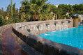 Hotel La Reginella - Piscina termale esterna con cascate cervicali