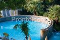 Hotel La Reginella - Le cascate cervicali della piscina in giardino