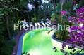 Hotel La Villa Rosa - La piscina termale semicoperta in giardino