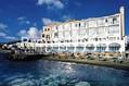 Hotel Miramare e Castello - Facciata dell'Hotel con spiaggia annessa