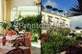 Hotel Noris - La sala ristorante e l'esterno dell'hotel