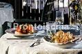 Hotel Parco Maria - Sala ristorante con piatti tipici locali