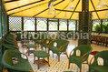 Hotel Parco Maria - Il bar con gazebo in giardino