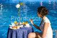 Hotel Park Imperial - La colazione a bordo piscina
