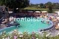 Hotel Park Victoria - La piscina termele in giardino con cascate cervicali ed idromassaggi