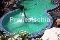 Hotel Park Victoria - La piscina termale con le cascate cervicali