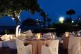Il ristorante romantico sulle terrazze panoramiche dell'hotel.