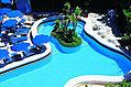 La piscina esterna termale 32?