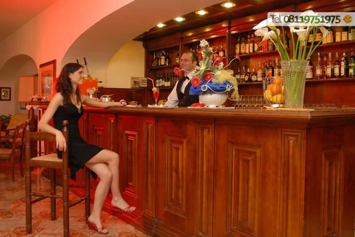 Angolo bar dove è possibile bere ottimi drink.