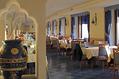 Sala ristorante vista mare.