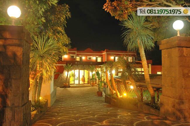 Ingresso Hotel Villa Franca.