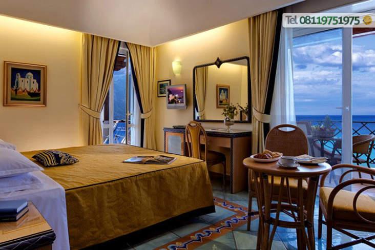 Junior Suite con doppio terrazzo vista mare.
