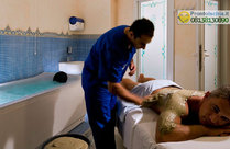 La fangobalneoterapia.