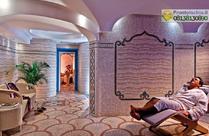 La sala relax del Centro Benessere Elisir.
