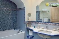Il bagno della Suite Il Faro.