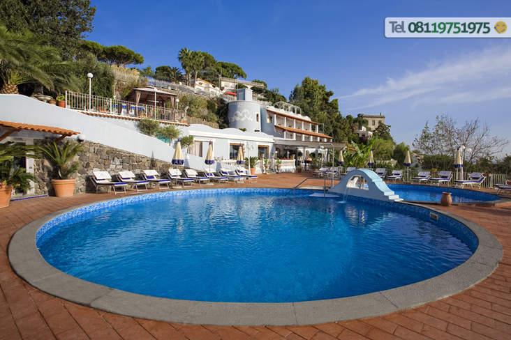 Hotel Delfini Ischia Baia Di Cartaromana Isola D 39 Ischia