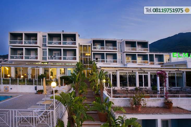 L'entrata dell'Hotel.