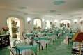 L'ampia sala ristorante.